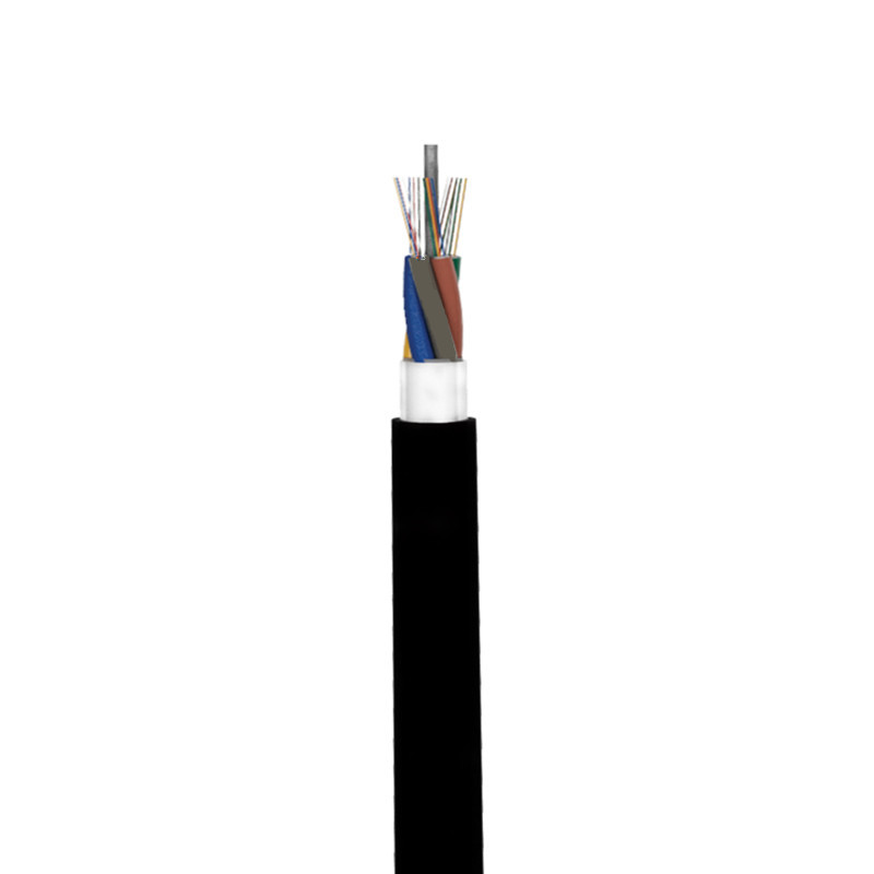 single aerial fiber optic cable