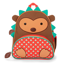 Hot kindergarten zoo animal toddler kids school backpack