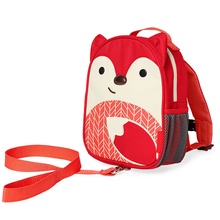 Children anti lost backpack cartoon animal school bag
