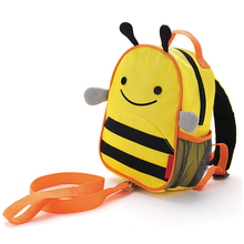 Wholesale children school bag toddler backpack anti lost band