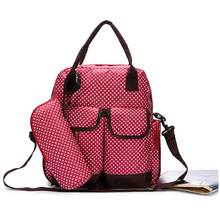 Nylon adult baby diaper mummy bag backpack