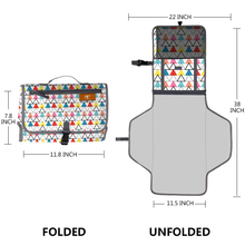 One Hand Fold away Grab Baby Diaper Changing Mat