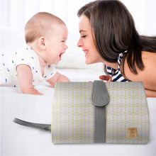 Travel Baby Changing Mat Portable Folding Waterproof Roll Up Changing Pad