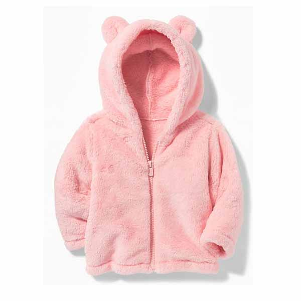 Micro Performance Fleece Bear-Critter Jacket for Baby baby clothes on sale