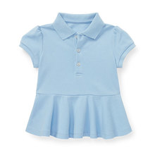 Baby girls polo shirt baby girl school shirt and blouse school uniform
