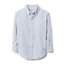 Kids tops boys striped oxford shirt