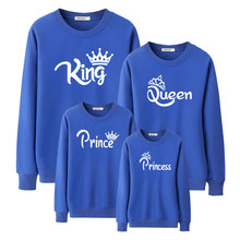 Popular Printed Long Sleeve Sweatshirt Parent-Child Clothing