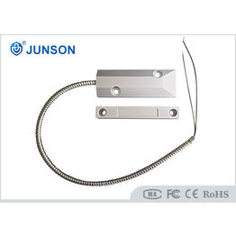 Wired Magnetic Door Switch , Magnetic Reed Switch For Metal Rolling Door