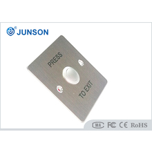 No NC SS Plate Door Release Weatherproof Exit Button JS-86D 500000 Times Mechanical Life