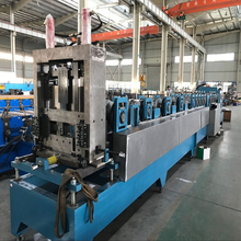 Best hydraulic cutting CZ purlin roll forming machine China supplier