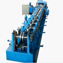High speed galvanized steel CZ purlin cold roll forming machine China factory