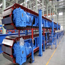 High speed PU sandwich panel line machine para sa sheet na bakal na 0.4-2mm na ginawa sa China