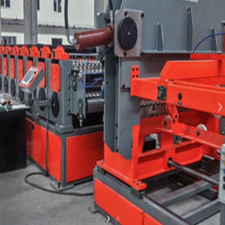 automatic silo roll forming machine