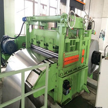 Decoiler dan shearing straightening machine