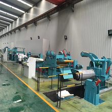 Metal coil used cut to length line quick speed cutting line