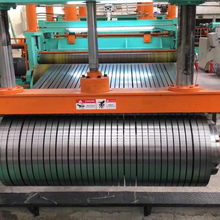 Galvanized color coated stainless steel coil cutting machine