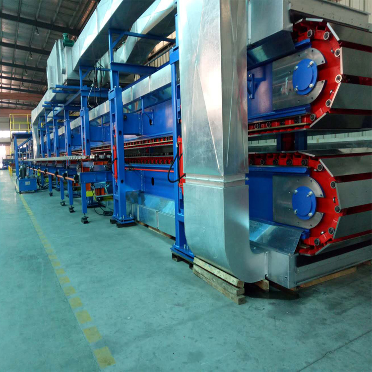 high speed pu sandwich panel line