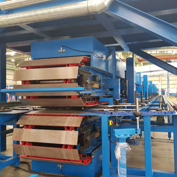 High-Quality 0.4  0.8 mm PU Sandwich Panel Line Machine Manufacturer China - ybtformingmachine.com