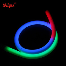 Hot - dog Design 360 degrés Digital RGB LED NEON LIGHT