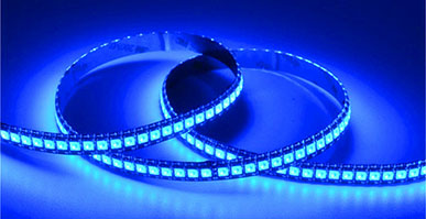 The led light strip refers to the assembly of the LED on a strip-shaped FPC or a PCB hard board, and the name of the product is named like a tape.