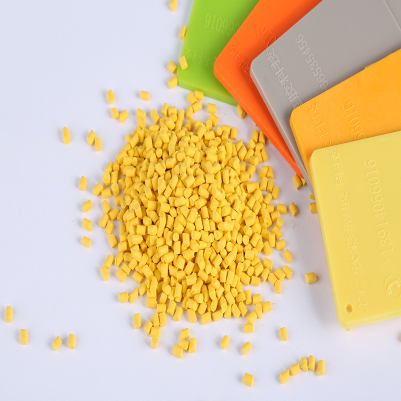 professional manufacturer color masterbatch good quality pp yellow masterbatch