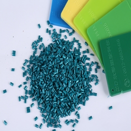 Green Color Polycarbonate Masterbatch for Plasic