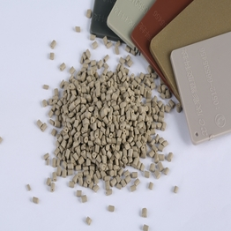 Plastic Pellets Injection Molding Colorant ABS Brown Color Masterbatch