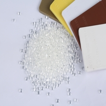 100% Virgin Clear PC materials Transparent PC pellets Polycarbonate Granules