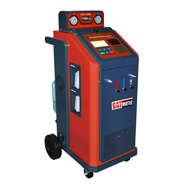 GM580 automatic ac service machine  auto service equipment AC Service Machine