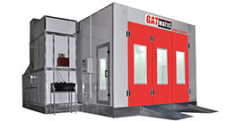 Environmental protection measures for spray booths