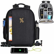fashionable polyester camera backpack
