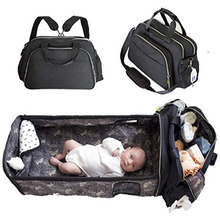 multi fuction portable diaper bag