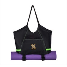 sports yoga tote bag