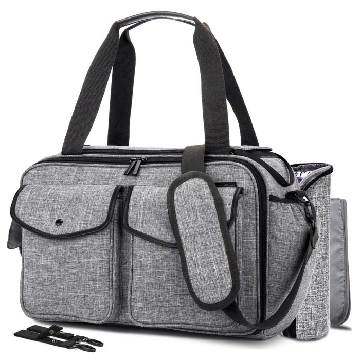 Trendy nuring baby diaper tote Bag