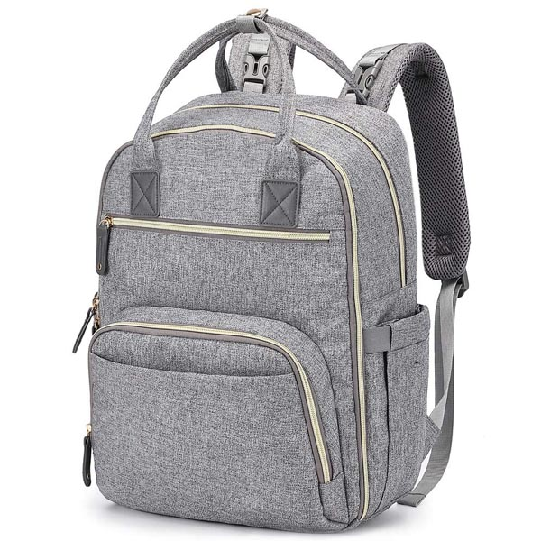 Multi Functional large unisex water resistance diaper backpack