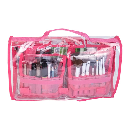 New Promotion Folded Travel Hanging Cosmetic Organizer Bag Personalized Makeup Cases