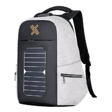 Anti Theft Solar Charger Laptop Bag with USB Charging Port for Travel Business Laptop Backpack
