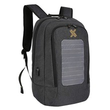 Anti Theft Water Resistant Solar Panel Powered Travel Business Laptop Backpacks
