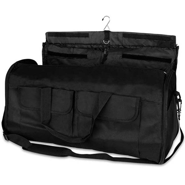 High capacity storage travel garment bag