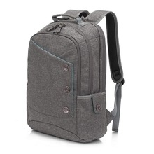Unique Button Style Stylish Computer Bag Large Capacity Daypack for Business Laptop backpack