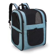 Safety Features and Cushion Back Support Pet Carrier Backpack