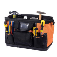Wide Mouth Single Shoulder Tool Bag