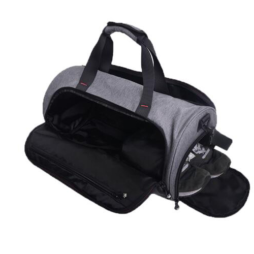 Deluxe high quality custom lightweight big travel tote duffle gym sports bags