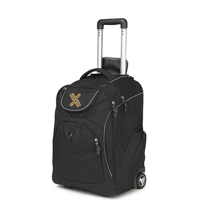 Portable big size trolley duffel bag travel duffel bag