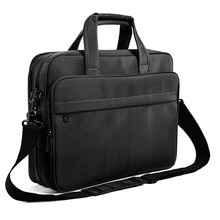 Expandable water resistant stylish laptop shoulder messenger bag computer office briefcase