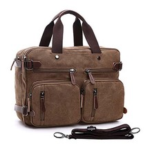 Multifunction laptop work bag school bag laptop backpack messenger bag business briefcase
