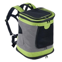 Large Soft Sided Pet Travel Carrier Top Opening Mesh Carrier Airline Approved Puppy Pet Backpack