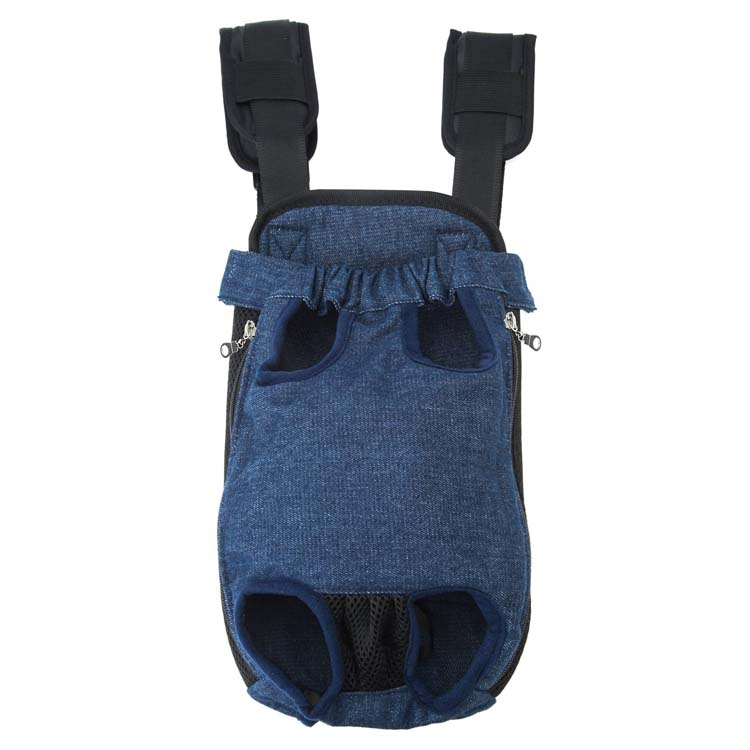 Lightweight Legs Out Front Facing Dog Carrier Hands Free Adjustable Puppy Bag Carrier Pet Backpack