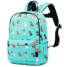 Little Kids Dog Toddler Backpacks for Boys and Girls Preschool Backpack With Chest Strap