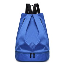 Gym Sports Bag Dry Wet Separated Beach Swim Rucksack with Shoe Compartment Swimming Bag